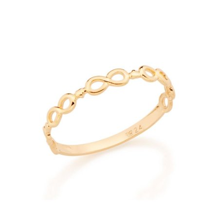 Anel Skinny Ring Infinito Rommanel