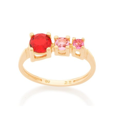 Anel Skinny Ring Cristal Rommanel