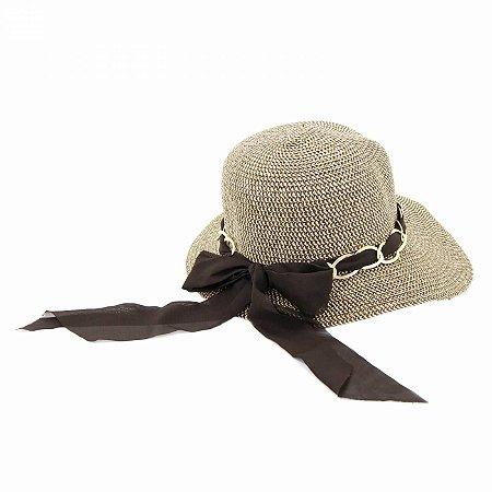 Chapéu tipo Viseira com Corrente
