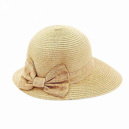 Chapéu tipo Viseira com Laço