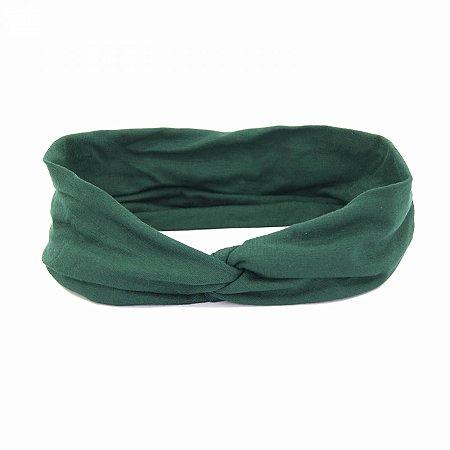 Headband Turbante Verde