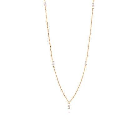 Gargantilha Diamantada Rommanel