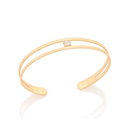Bracelete Aro Vazado Rommanel
