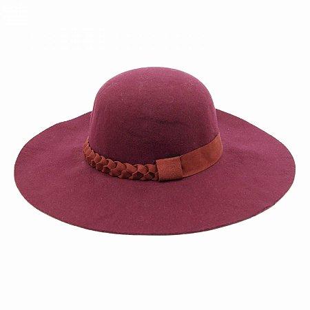 Chapéu de Feltro Marsala