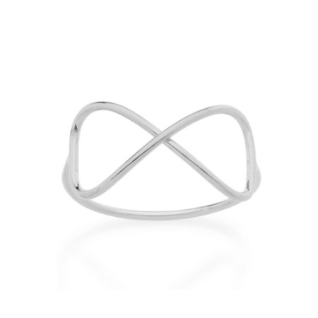 Anel Skinny Ring Infinito Vazado Rommanel