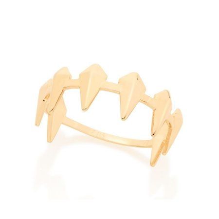 Anel Skinni Ring Formado Por Spikes Rommanel