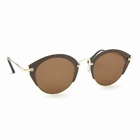 Óculos de Sol Glamorous com Lente Marrom