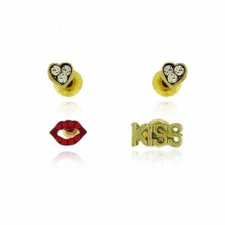 Kit Brincos Kiss