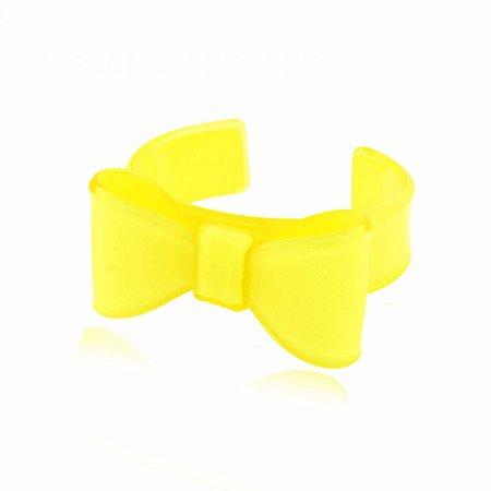 Pulseira Lacinho Amarela