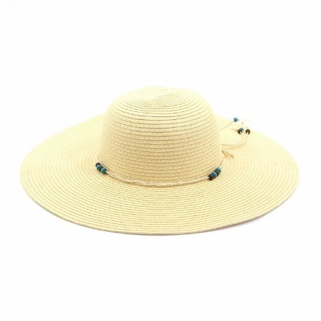 Chapéu de Praia com Cordinha e Bolinhas