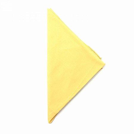 Lenço Tipo Bandana Amarelo