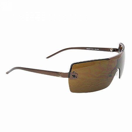 Óculos de Sol Marrom de Armação Fina