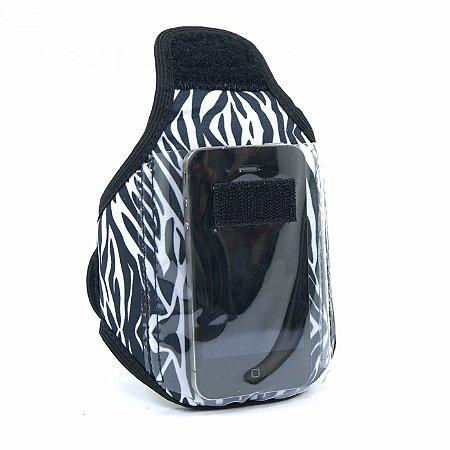 Porta Celular para Academia Zebra