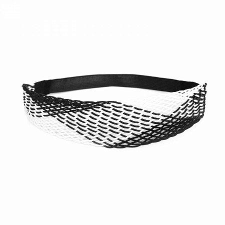 Headband Largo Preto e Branco