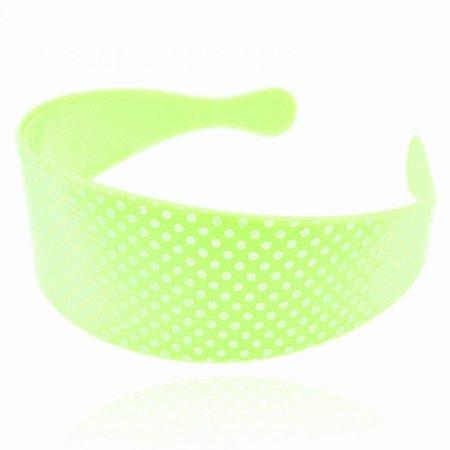 Tiara Petit Poá Verde