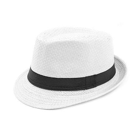 Chapéu Estilo Panamá Marfim
