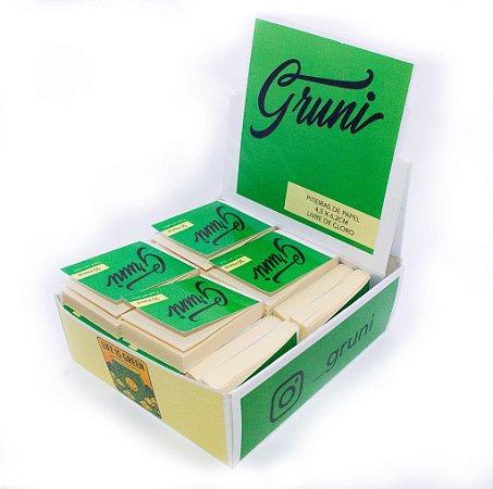 Caixa de piteira de papel Gruni com 30 unidades