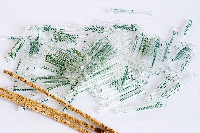 Kit com 10 Piteiras de vidro Gruni Promoção