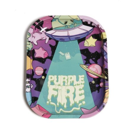 Bandeja de Metal Pequena PurpleFire