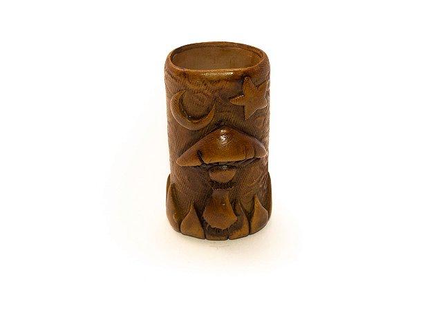 Porta Isqueiro Pequeno Cogumelo de São Thomé