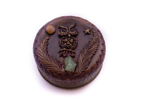 Dichavador Coruja com Pedra