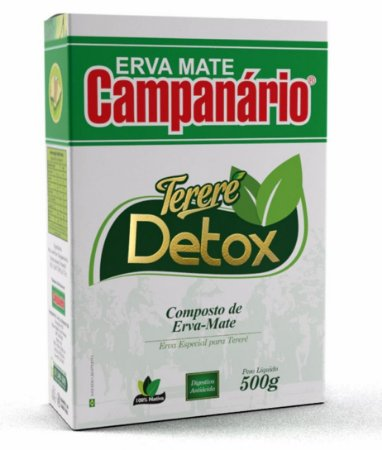 Erva mate Campanário Detox