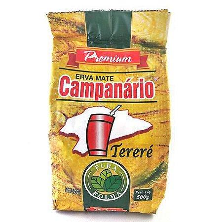 Erva mate Campanário Premium Pura Folha 500 gramas