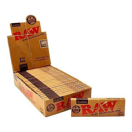 Caixa de Seda RAW Classic 1 1/4