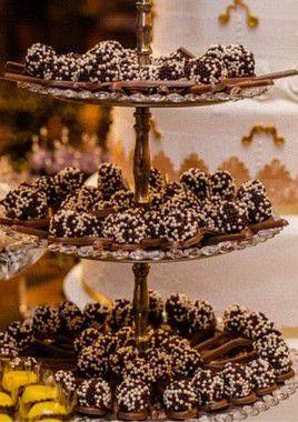 Colher de chocolate e brigadeiro