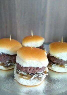 Mini - Hambúrguer Gourmet Gorgonzola