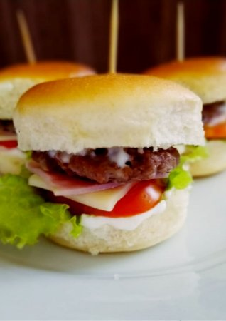 Mini - Hambúrguer Original