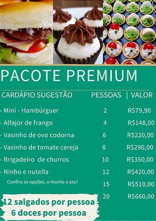 Pacote Premium - 2 pessoas
