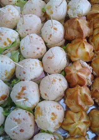 Sanduíche de Pão de Queijo