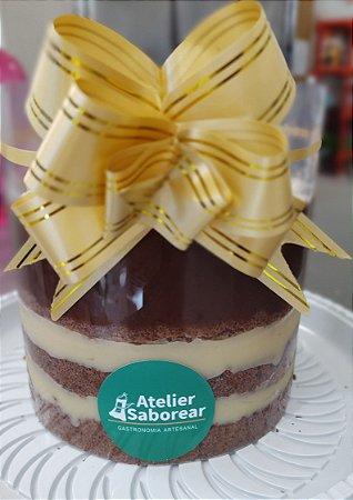Cake Tsunami de Ninho e Nutella