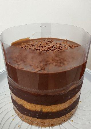 Cake Tsunami de Cenoura e Brigadeiro