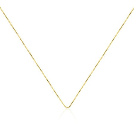 Corrente Veneziana 45cm + 5cm dourada
