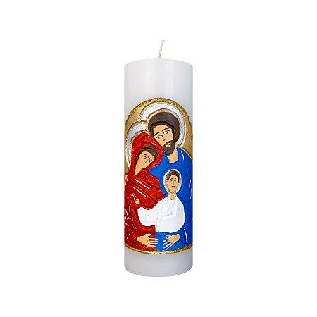 Vela Esculpida Sagrada Família