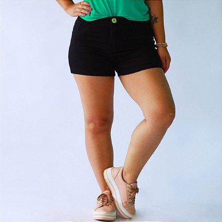 Short Black Sarja
