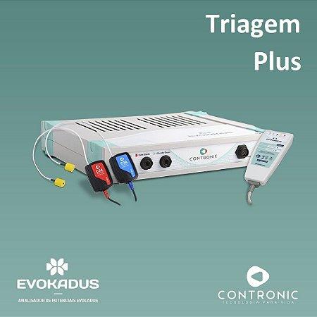 Potenciais Evocados - Evokadus Contronic com ABR + T-ABR + CHIRP