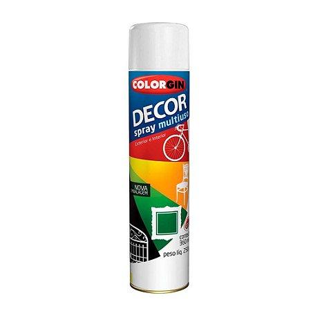 Tinta Spray Decor Branco Multiuso Fosco - Colorgin