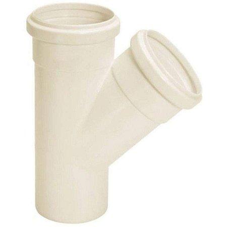 Junção Para Esgoto Simples 40mm PVC - Amanco