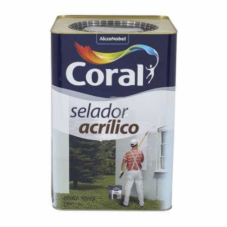 Selador Acrílico Branco 18L - Coral