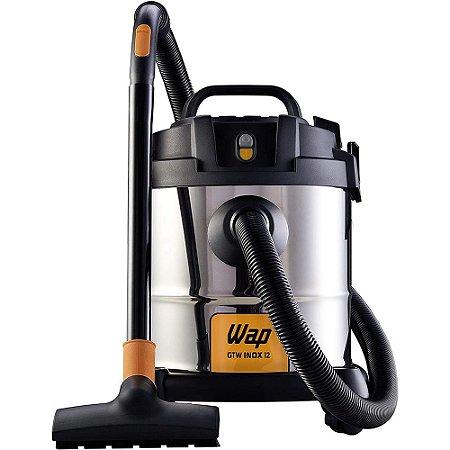 Aspirador de Pó e Água GTW Inox 12L 220V - Wap