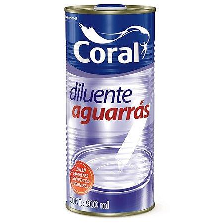 Diluente Aguarrás 900ml - Coral