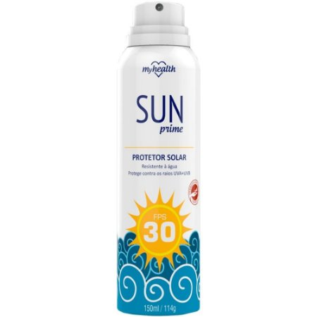 Protetor Solar Sun Prime Aero FPS30 150ml - Mundial Prime