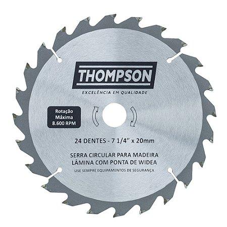 Disco de Corte para Madeira 7.1/4 Pol. 24 Dentes - Thompson