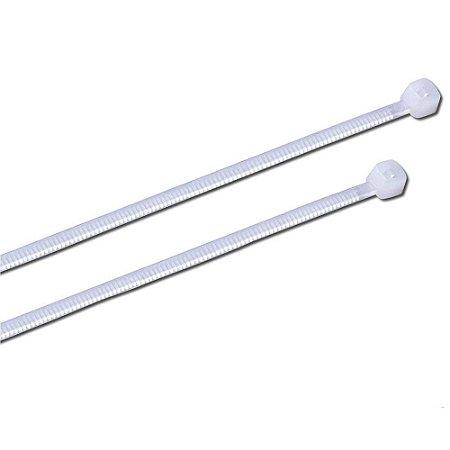 Abraçadeira de Nylon Branca 140 x 2,5mm - Foxlux
