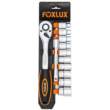 Kit Chave Soquete 12 peças - Foxlux
