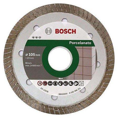 Disco Diamantado para Porcelanato 105mm x 20mm - Bosch