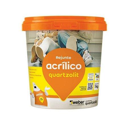 Rejunte Acrílico 1Kg - Quartzolit